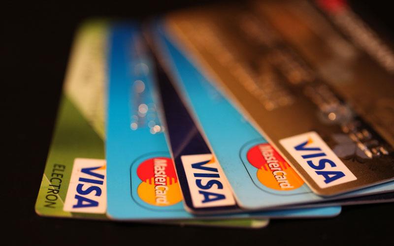 کارت های اعتباری بین المللی